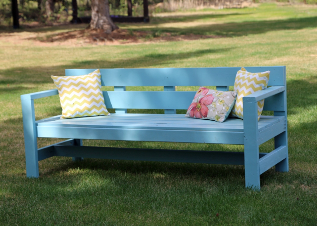 Image of: Ana White Porch Swing Ideas