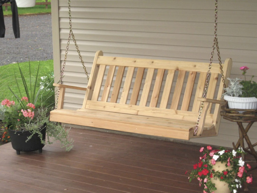 Image of: Ana White Porch Swing Modern
