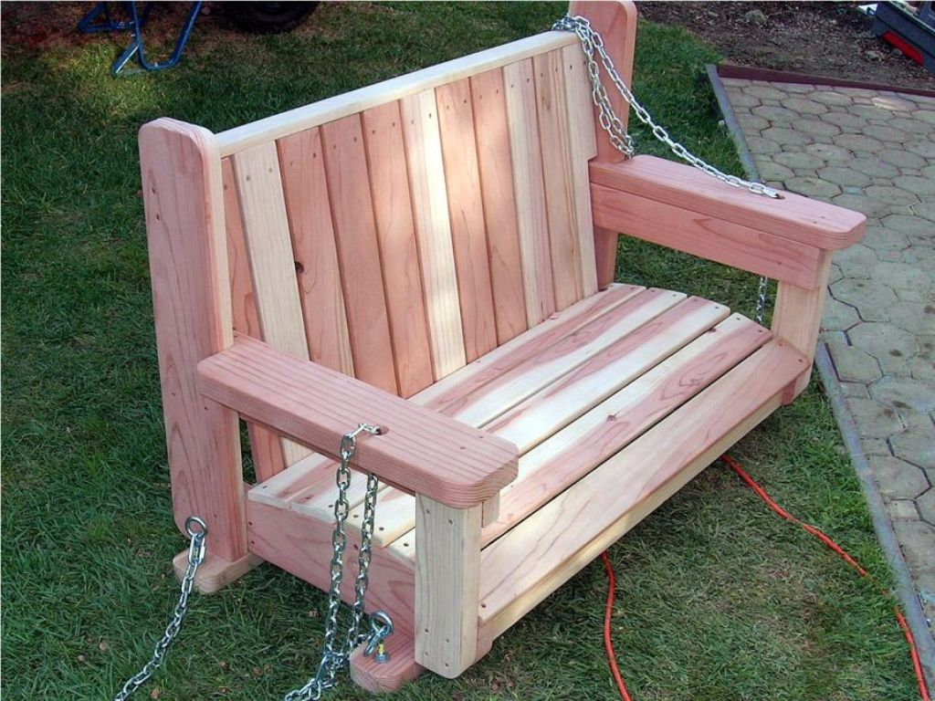 Image of: Ana White Porch Swing Shanty 2 Chic
