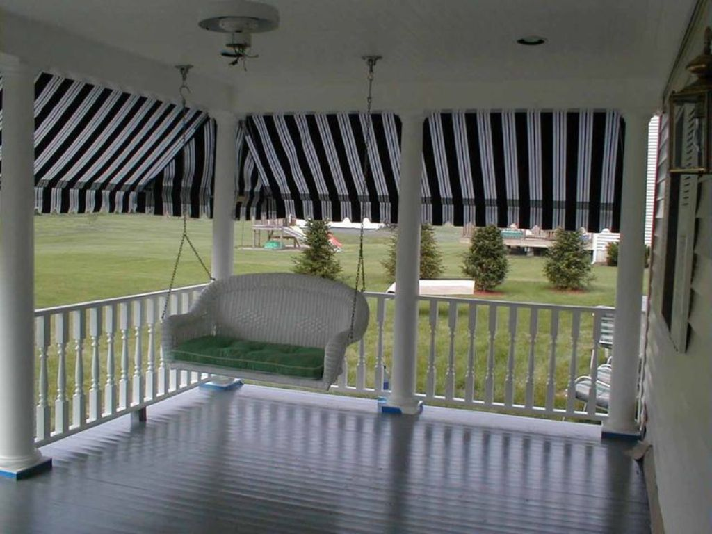 Image of: Apache Porch Awnings