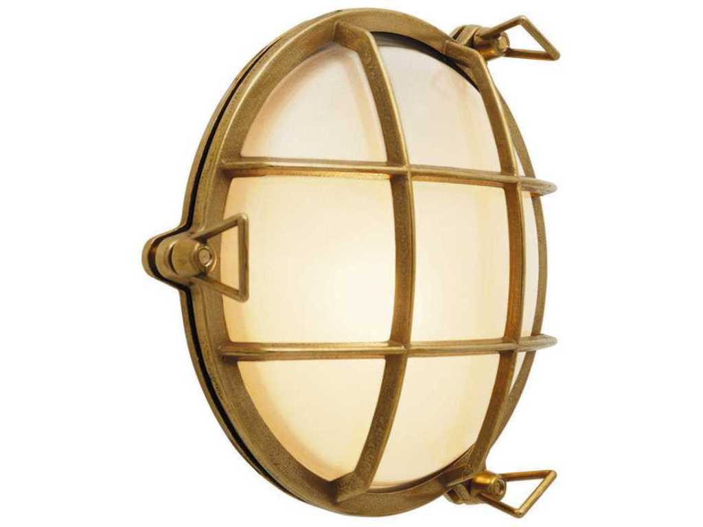 Image of: Astro Toronto Outdoor Round Wall Light
