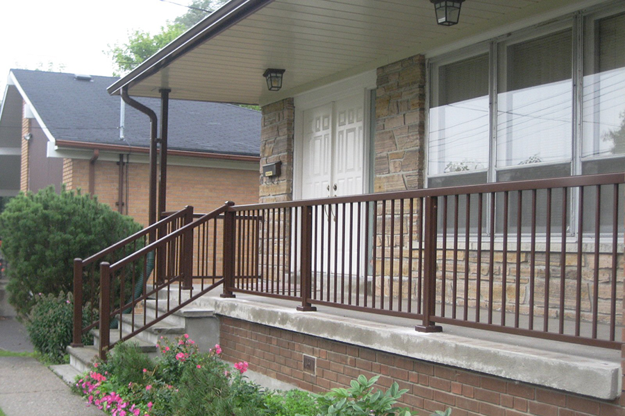 Awesome Aluminum Porch Railings