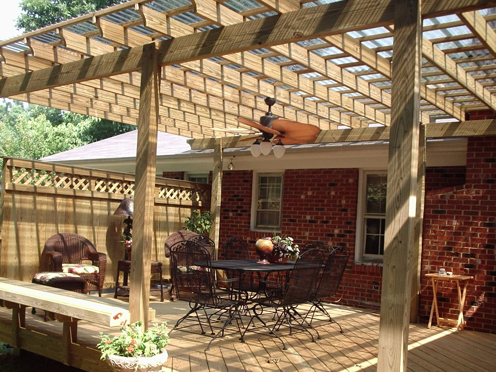 Image of: Awesome Covered Back Porch Ideas