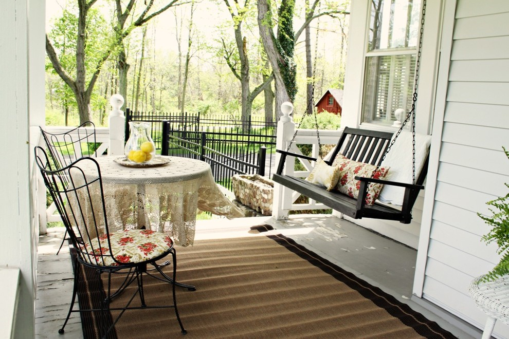 Image of: Awesome Front Porch Swings