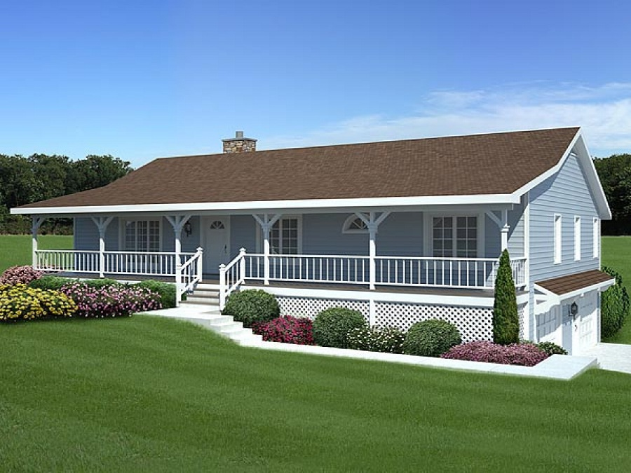 Image of: Awesome House Plans With Front Porches