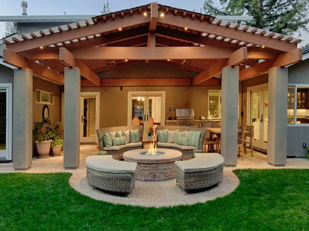 Image of: Back Porch Designs Images