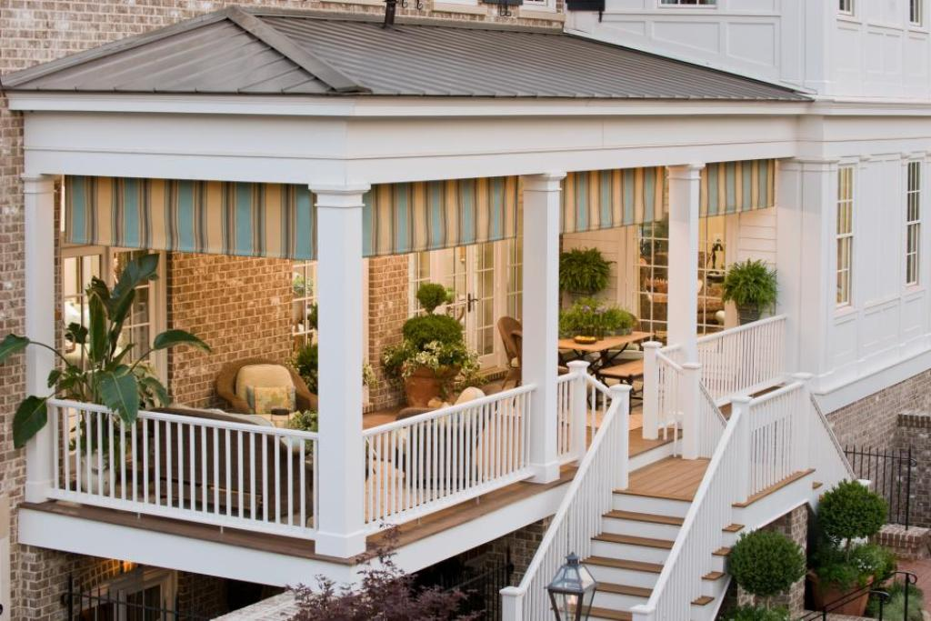 Back Porch Designs for Indian Homes