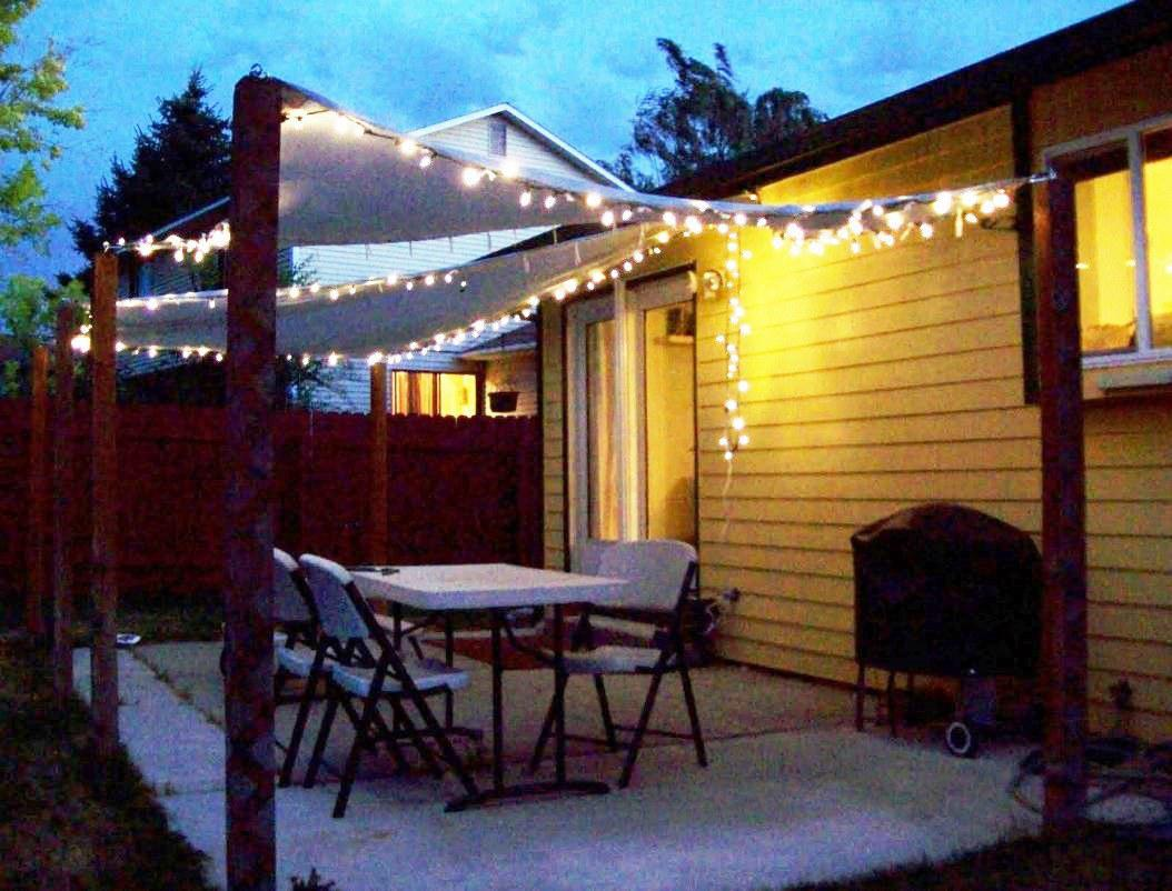 Image of: Back Porch Lights String