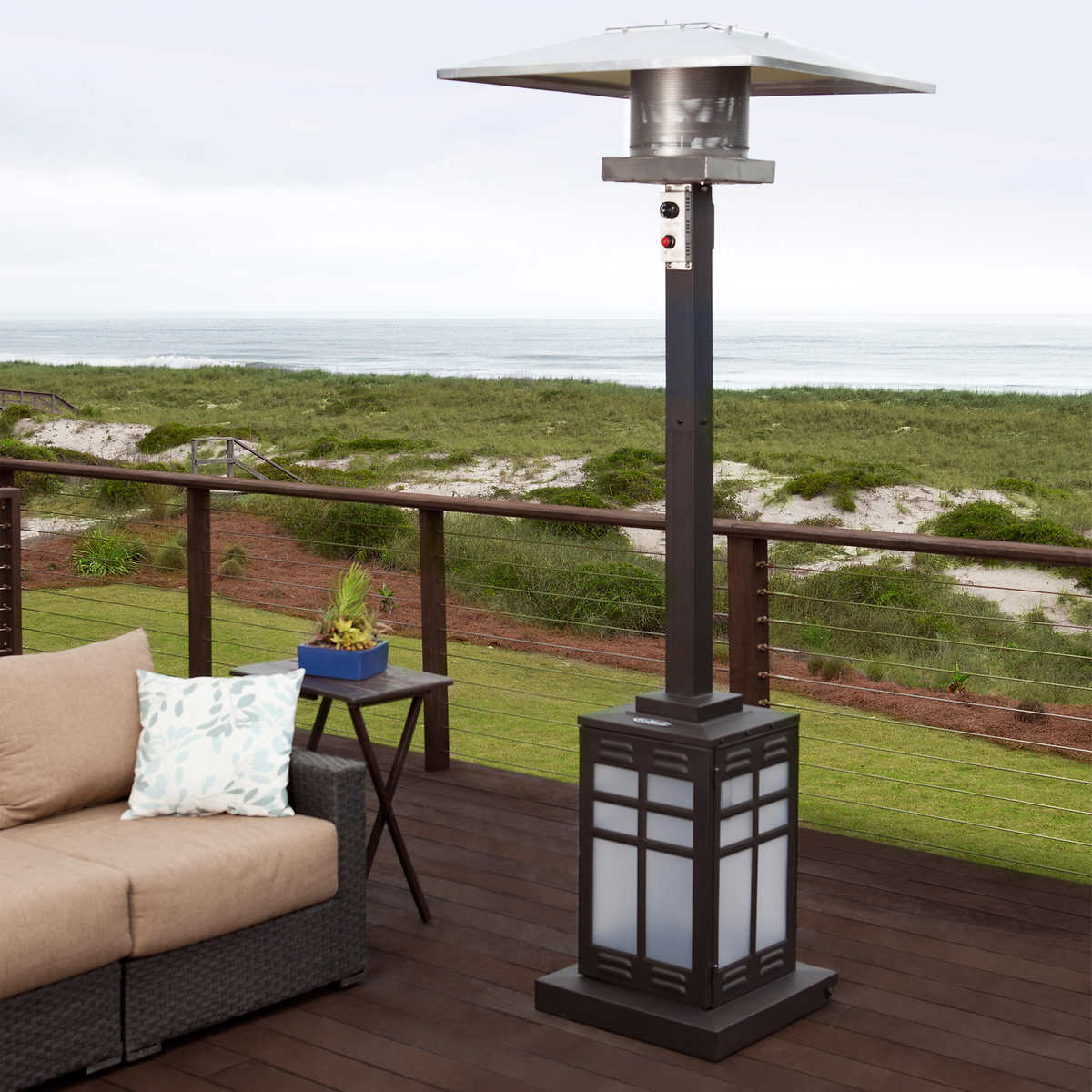 Image of: Beautiful Porch Heaters