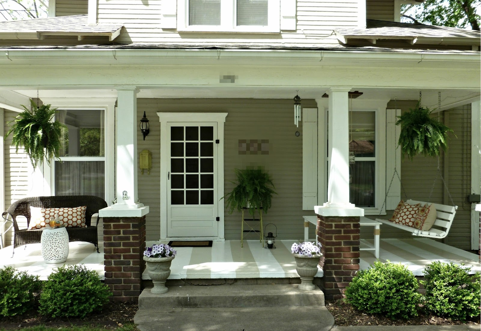Image of: Beautifull Front Porch Ideas For Small Houses