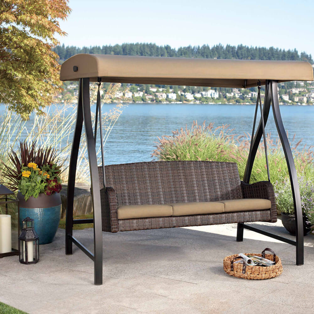 Image of: Beauty Glider Porch Swing