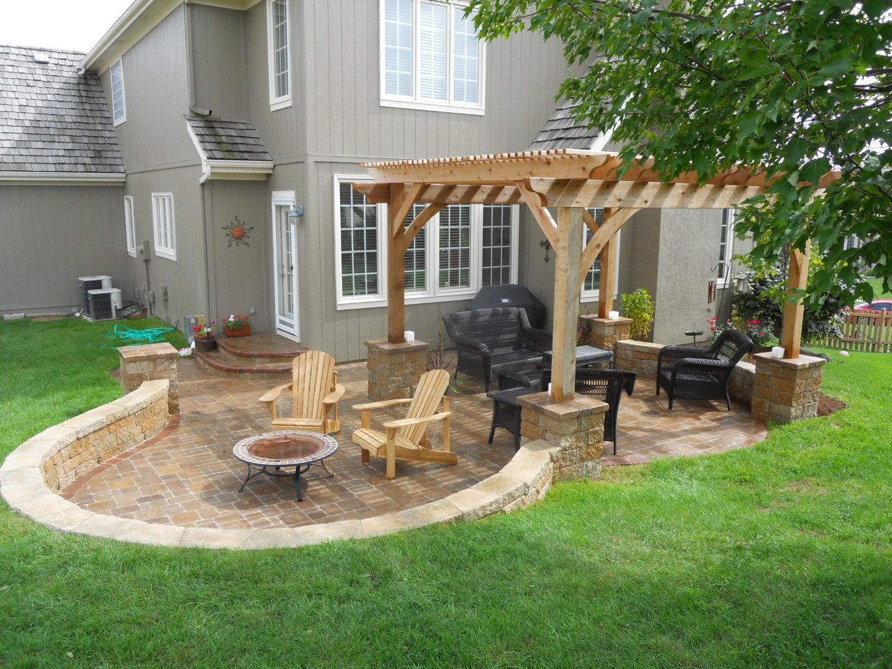 Image of: Best Backyard Porch Ideas Style
