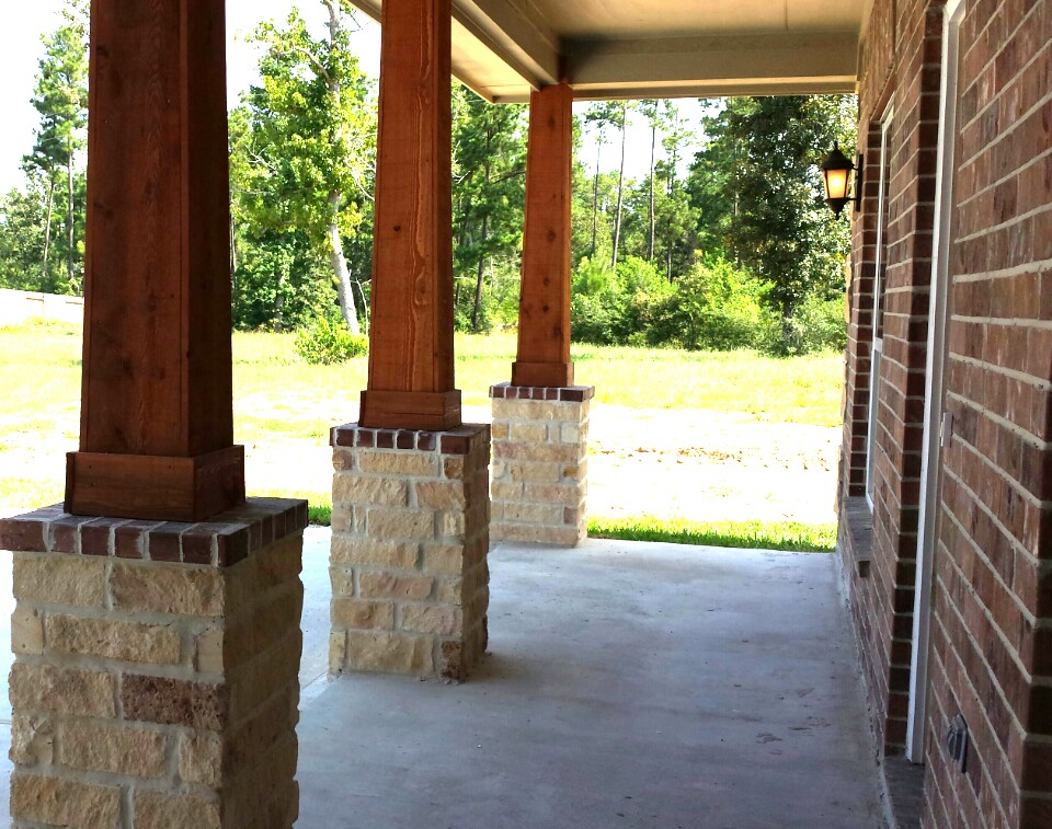 Image of: Best Cedar Porch Columns Ideas