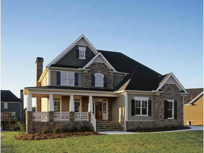 Image of: Best Country House Plans With Porch