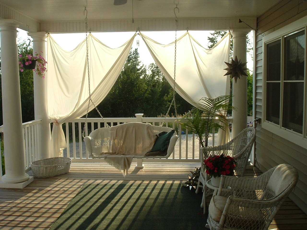 Image of: Best Country Porch Decorating Ideas