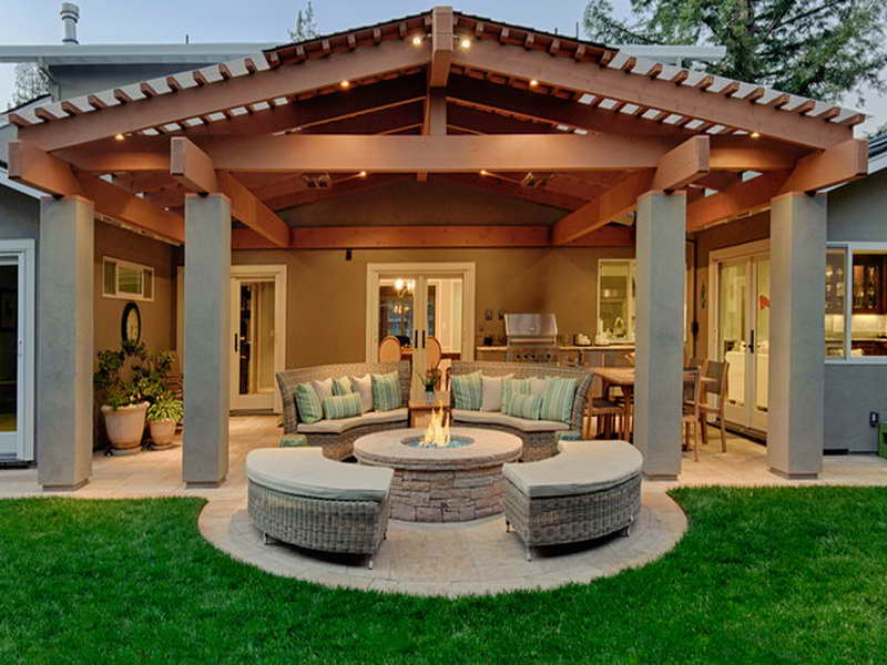 Image of: Best Covered Back Porch Ideas Style