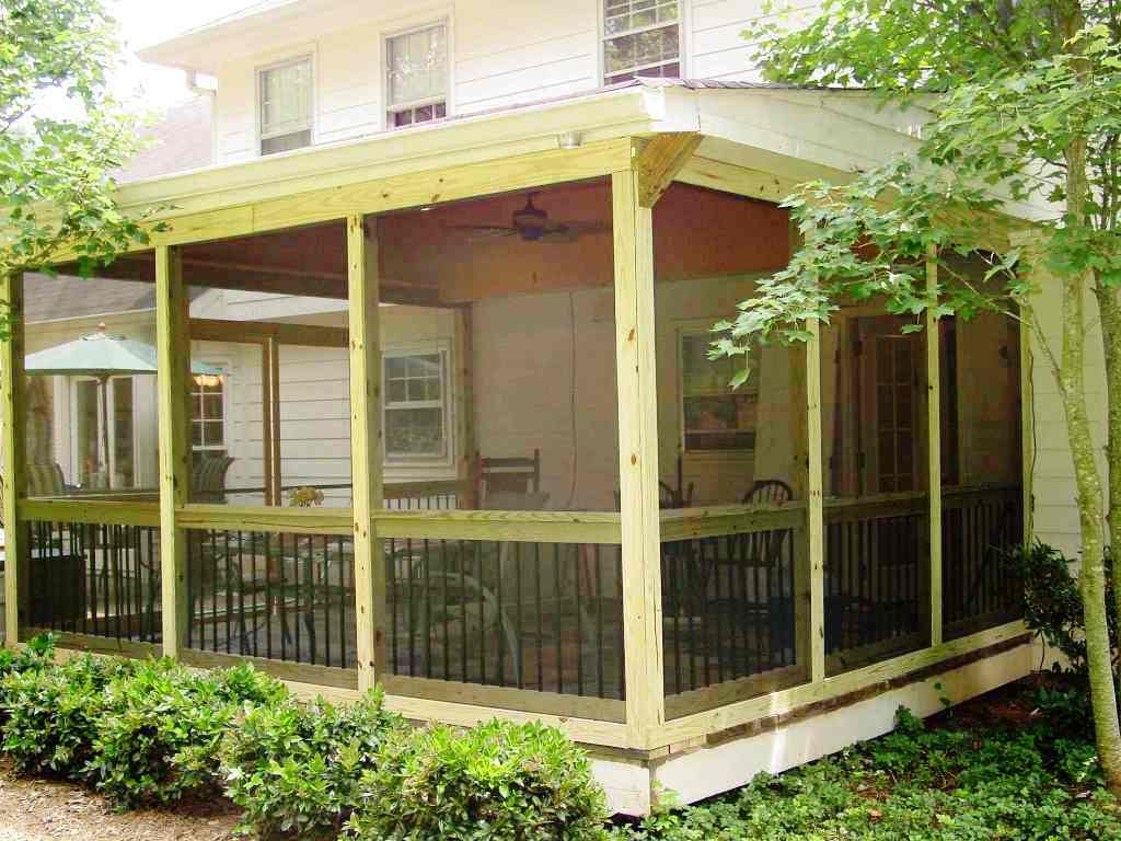 Image of: Best Diy Screen Porch