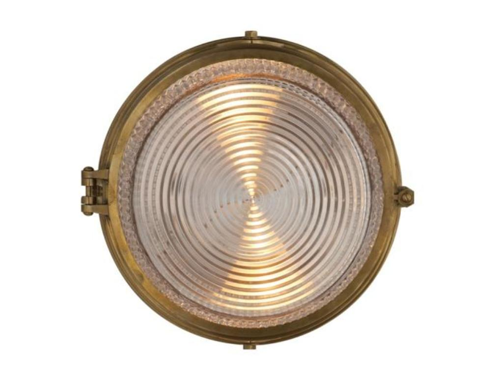 Image of: Best Effetto Round Outdoor Wall Light