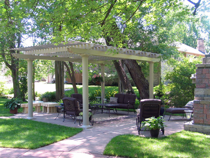 Image of: Best Freestanding Porch