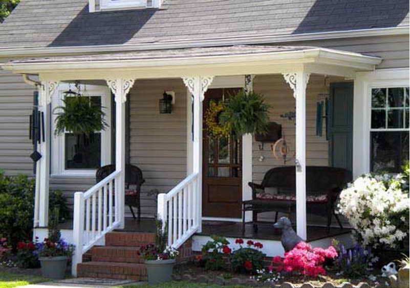 Image of: Best Front Porch Ideas For Small Houses