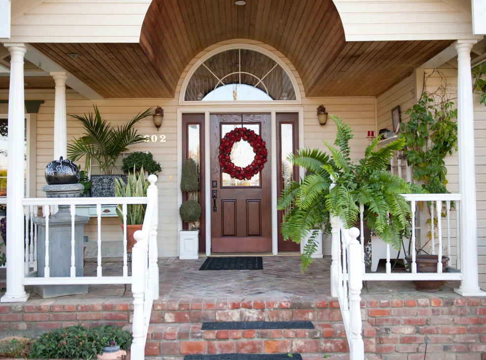 Image of: Best Front Porch Topiary