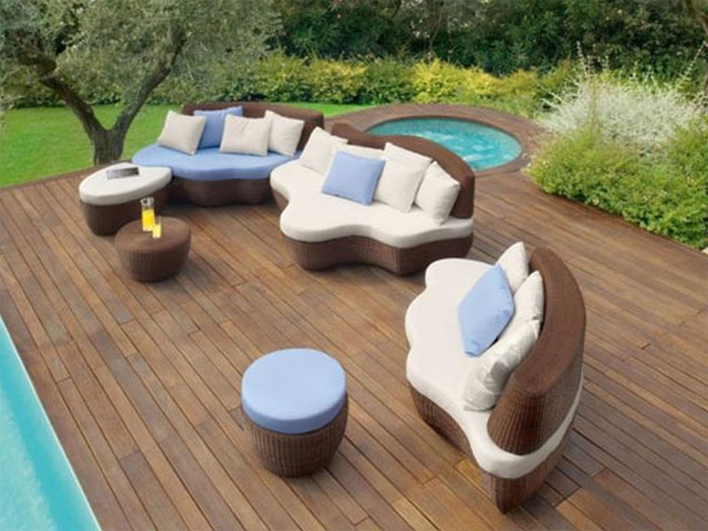 Image of: Best Inexpensive Contemporary Outdoor Furniture