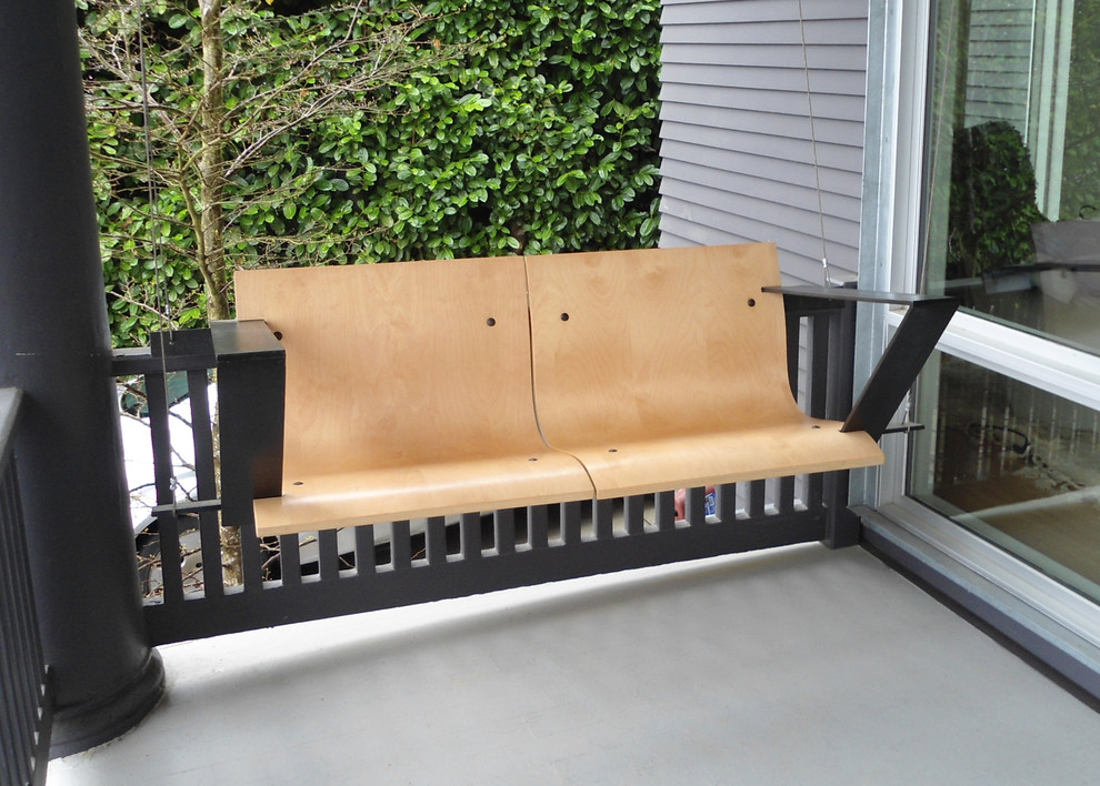 Image of: Best Modern Porch Swing