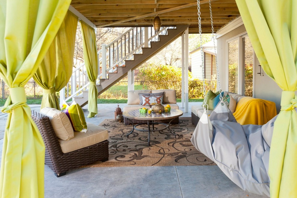 Image of: Best Outdoor Curtains For Porch