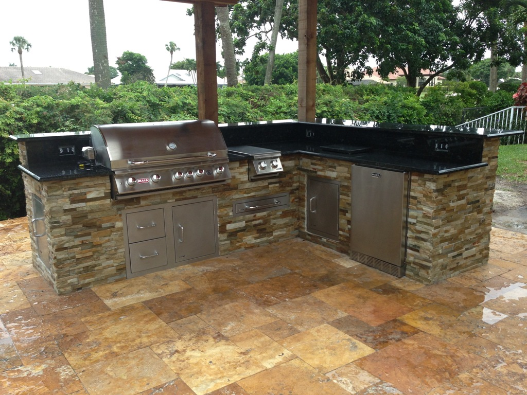 Image of: Best Outdoor Kitchen Ft Lauderdale