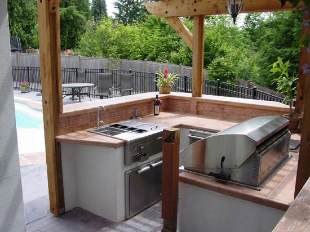 Image of: Best Outdoor Kitchens In Katy Texas