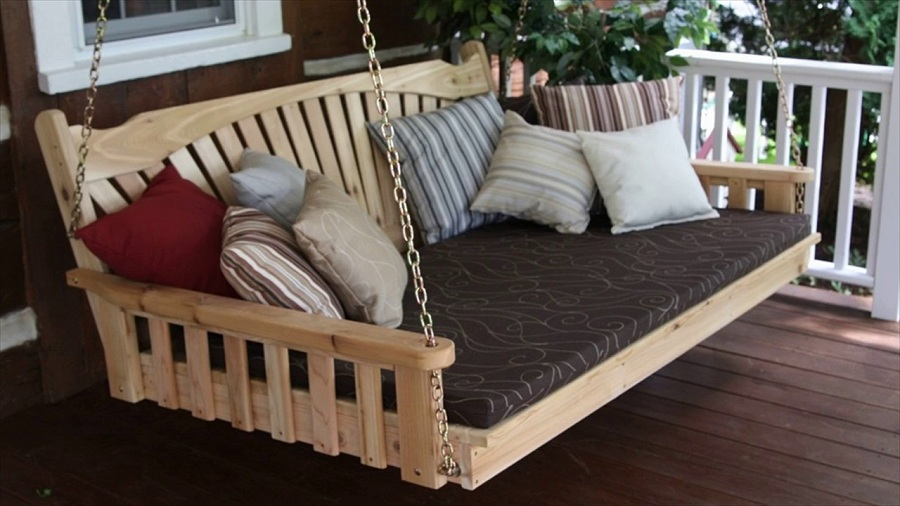 Image of: Best Porch Swing Ideas