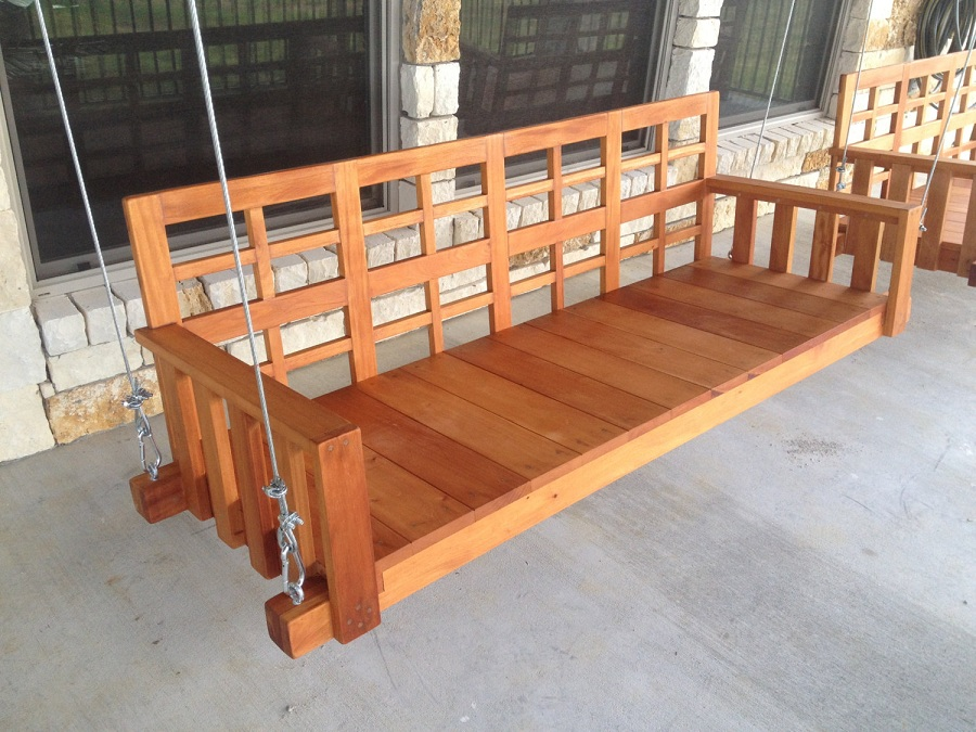 Image of: Best Porch Swing Ikea