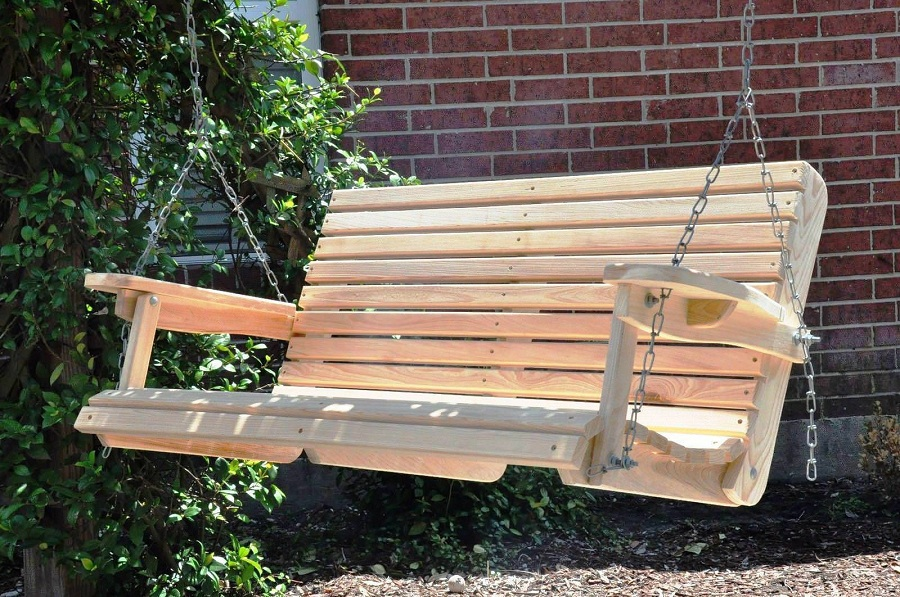 Image of: Best Porch Swing Plans