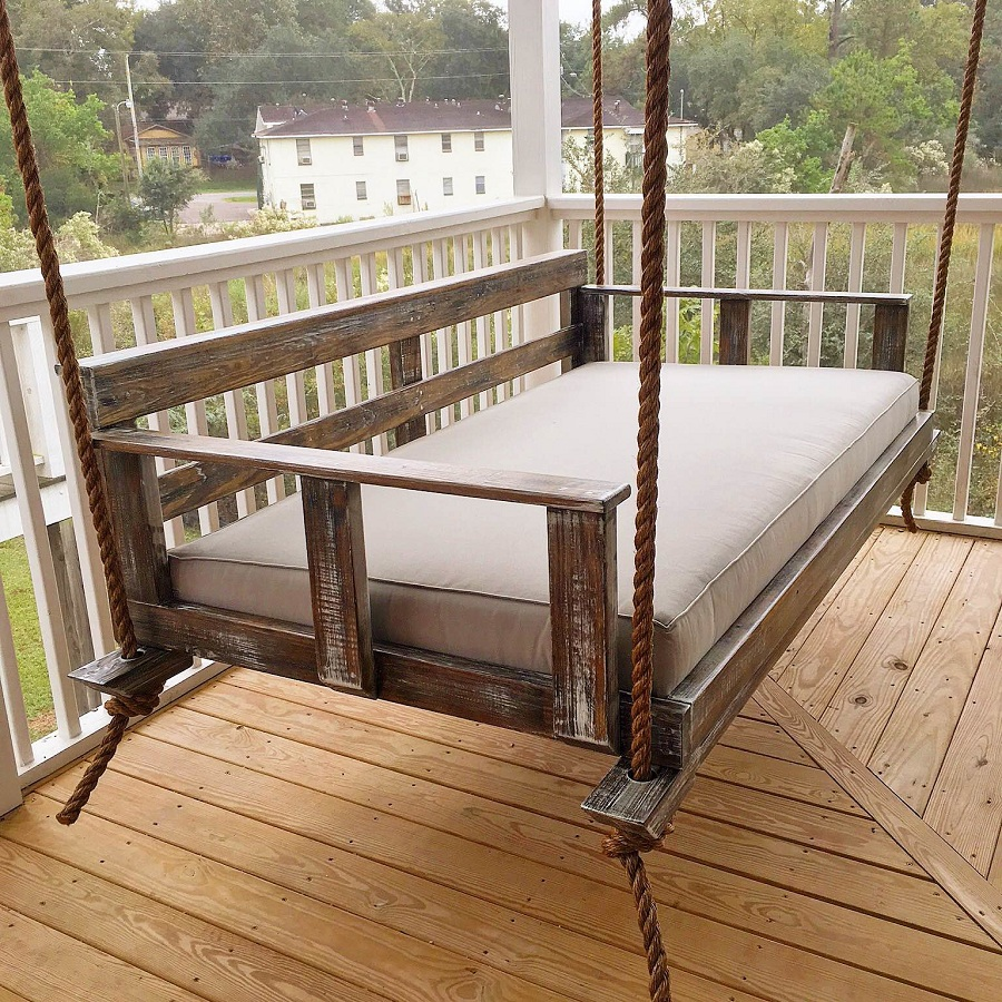 Image of: Best Porch Swing Vintage