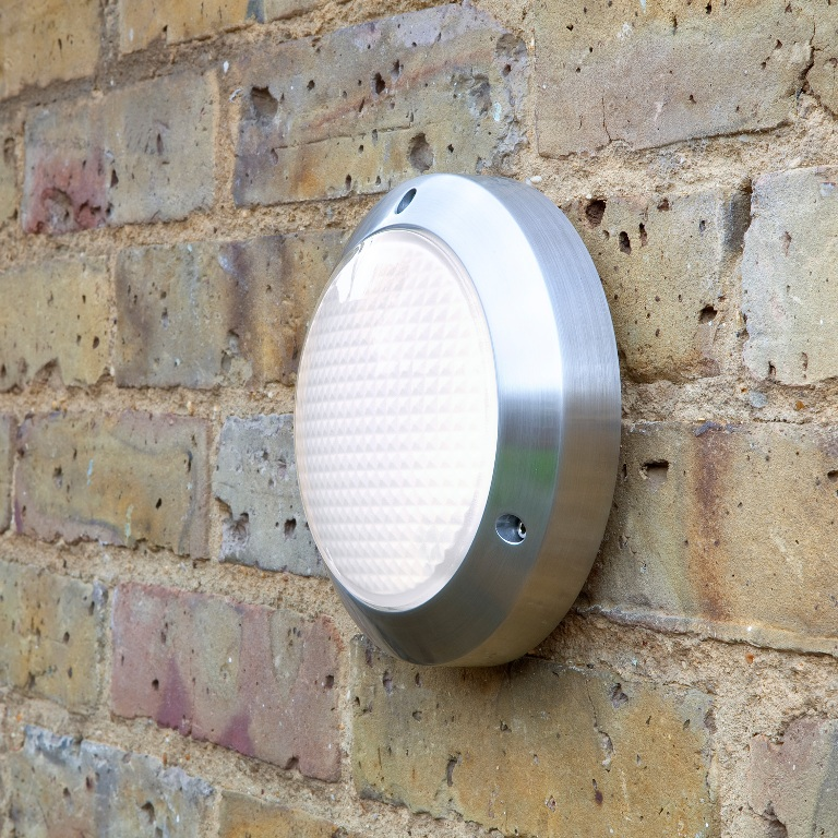 Image of: Best Round Exterior Wall Lights