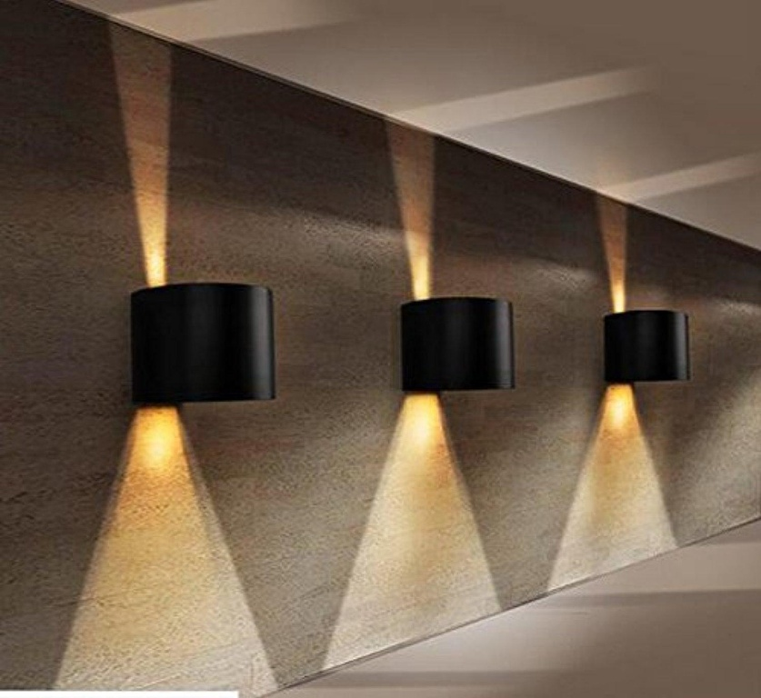 Image of: Best Round Outdoor Wall Light