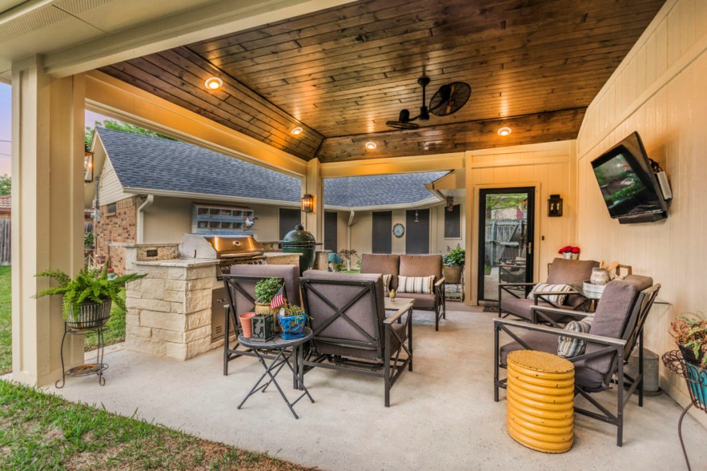Image of: Best The Katy Outdoor Kitchen Company