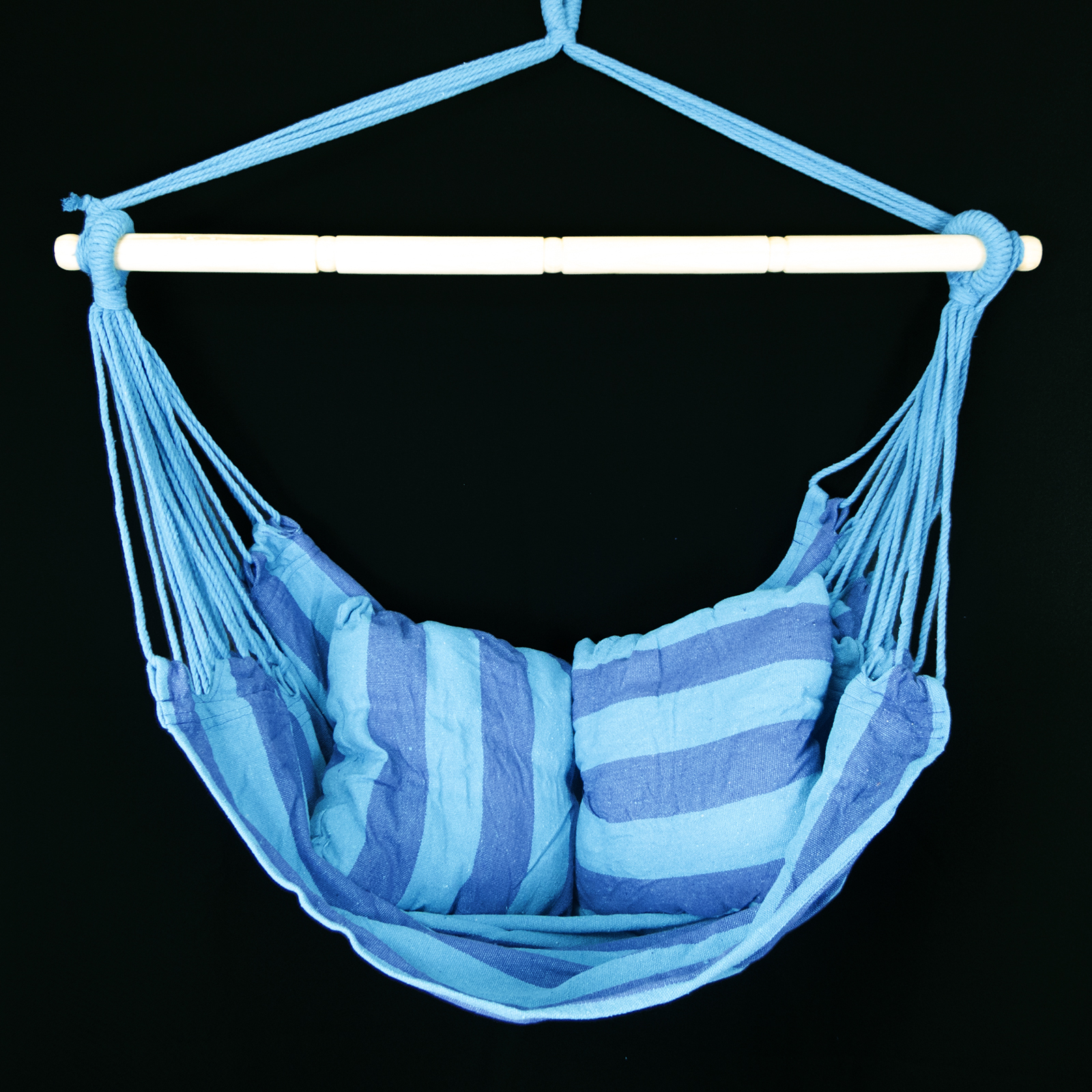 Image of: Blue Hanging Porch Chair