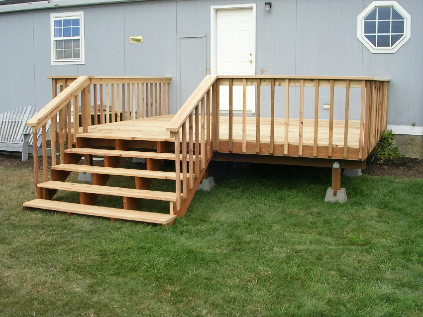 Image of: Build Porches And Decks