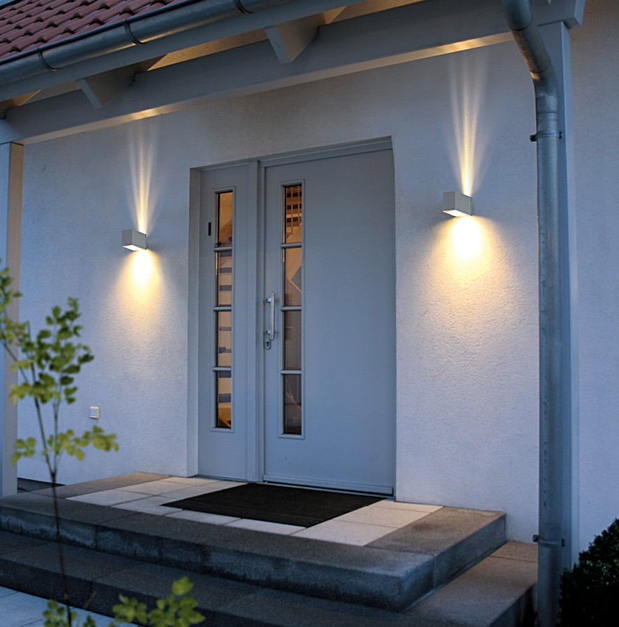 Image of: Charming Flush Mount Porch Light