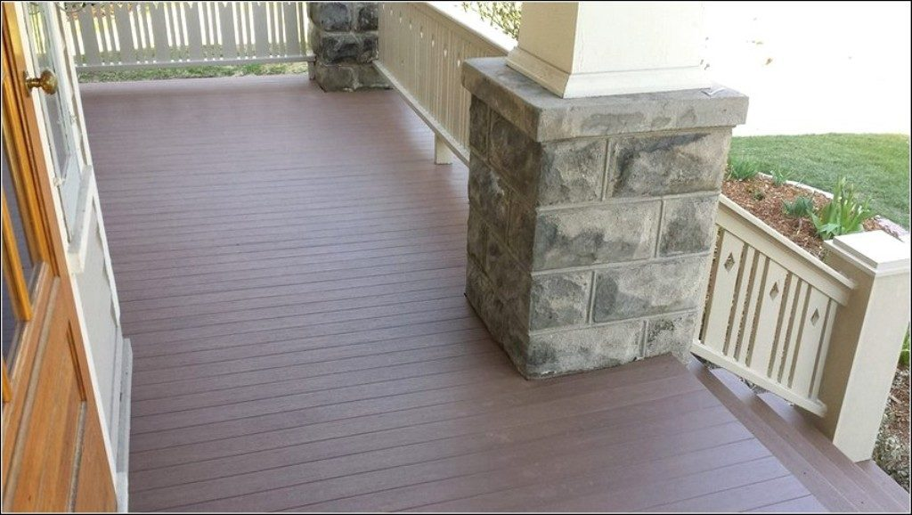 Image of: Composite Porch Flooring Home