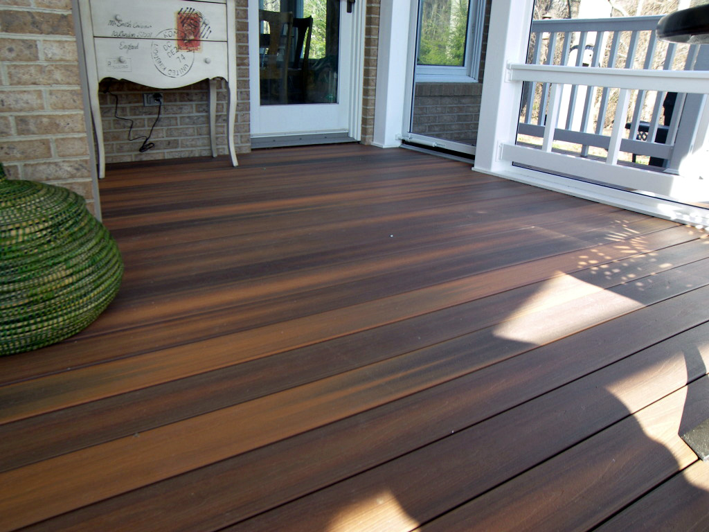 Image of: Composite Porch Flooring Ideas