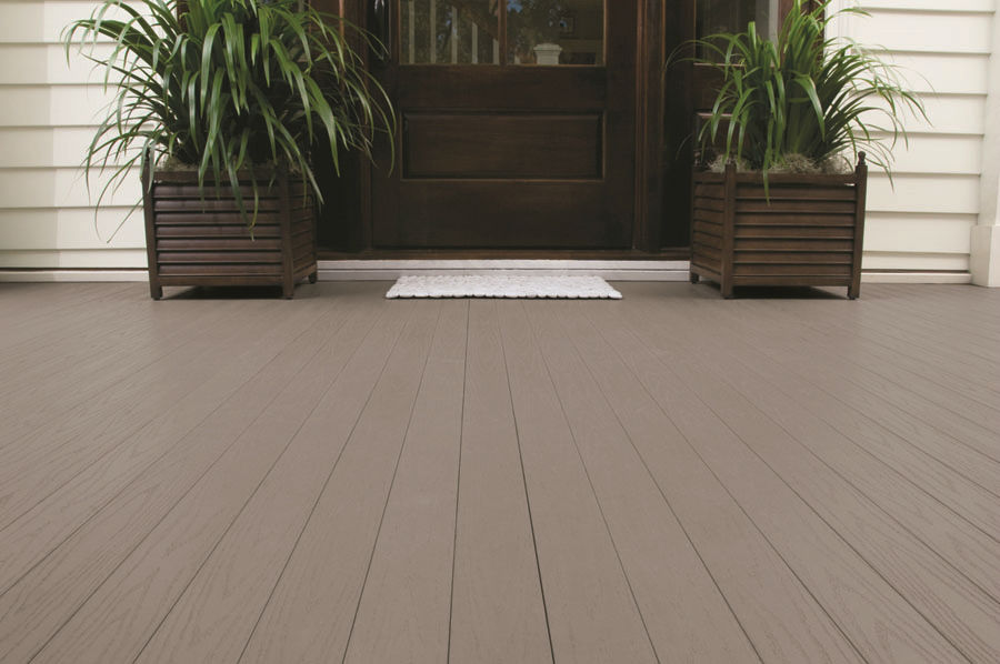 Image of: Composite Porch Flooring Paint