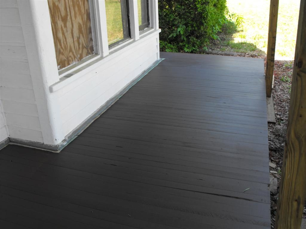 Image of: Composite Porch Flooring Style
