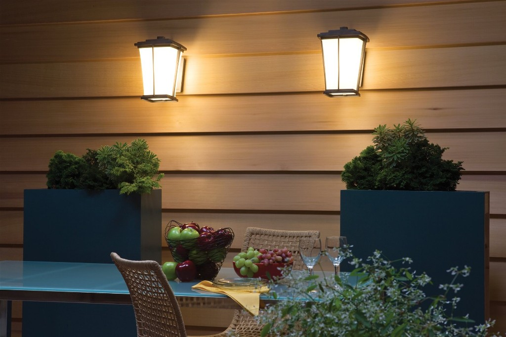Image of: Contemporary Outdoor Wall Light Black