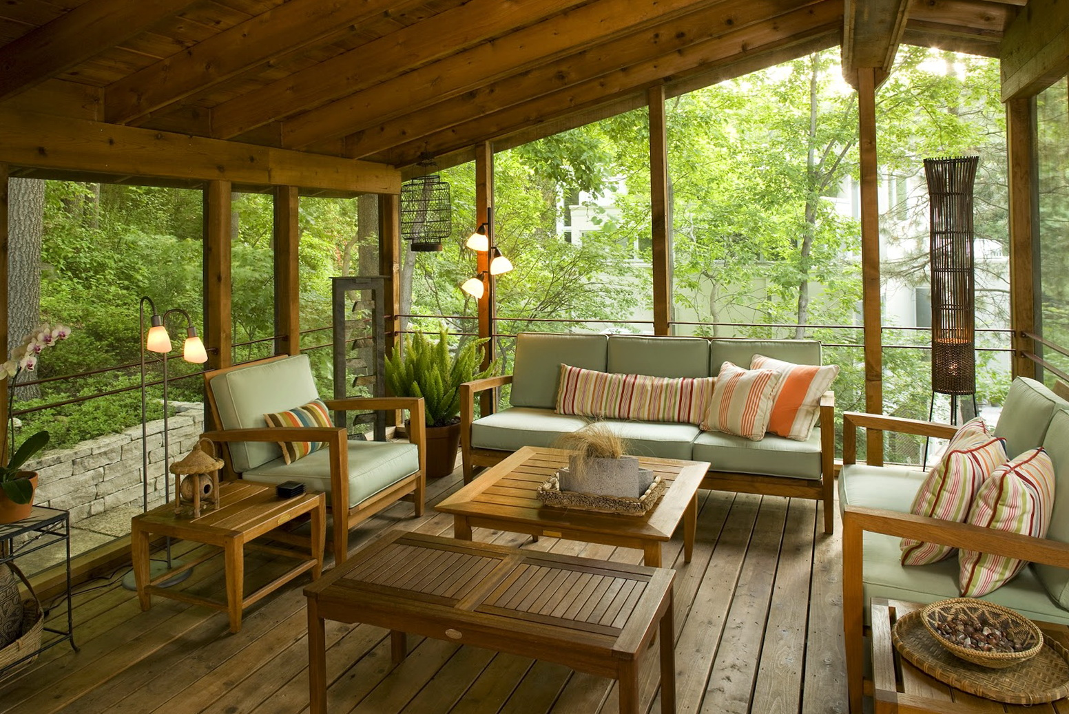 Image of: Cool Back Porch Ideas