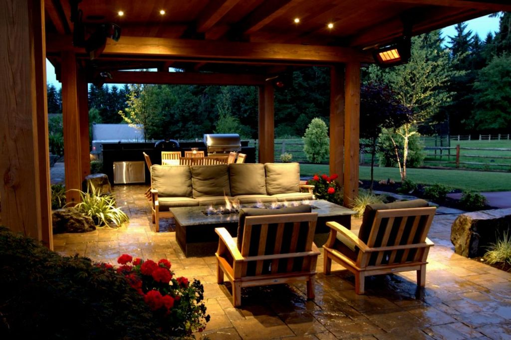 Image of: Country Living Outdoor Lighting