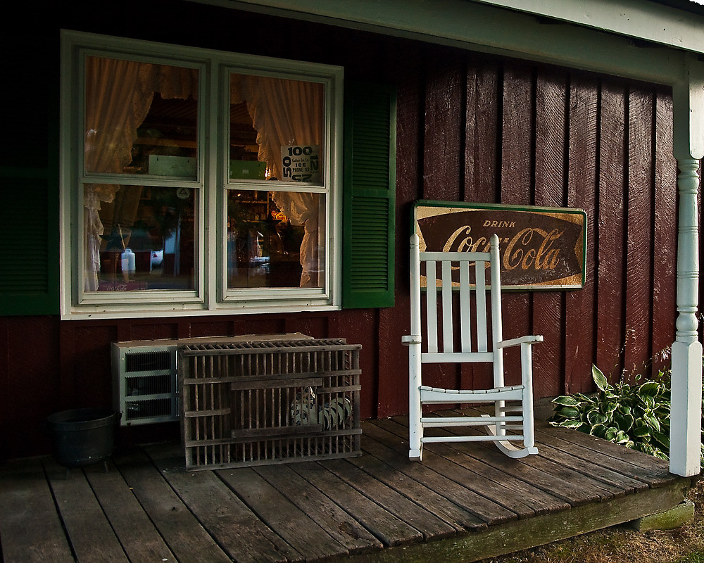 Image of: Country Porch Chairs
