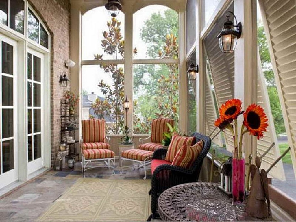 Image of: Country Porch Decorating Ideas Picture