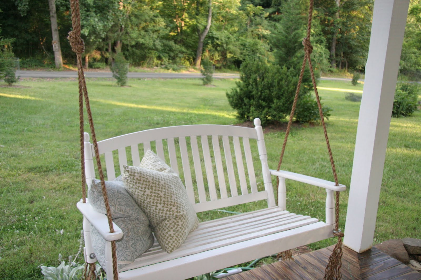 Image of: Covered Porch Swing Popular